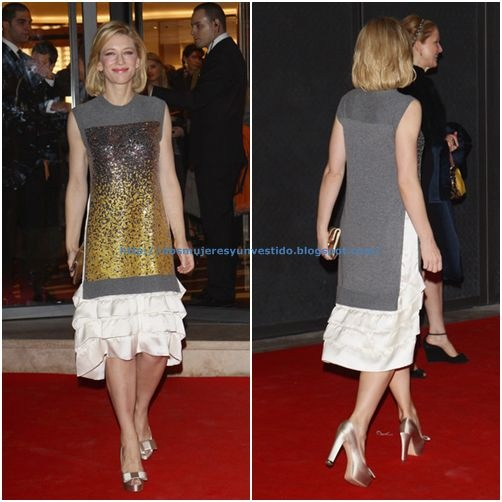 Cate Blanchett attends the Maison Louis Vuitton Roma2