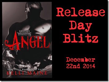 Release Day: Angel (Lucifer's Legion Motorcycle Club #3) by Kelli Maine