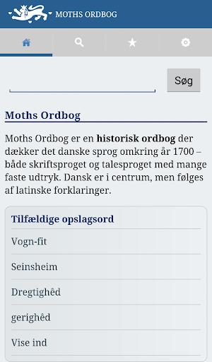 Moths Ordbog