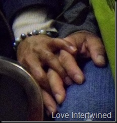 Hands Intertwined