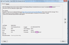 Terence Luk: Connectivity issues between Citrix XenDesktop