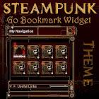 Steampunk GO Bookmark Theme icon