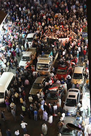 In memoria martirilor revolutiei egiptene