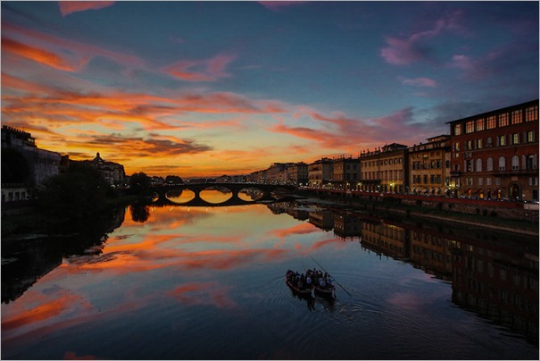 Arno Sunset