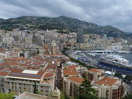 Monaco - vedere panoramica