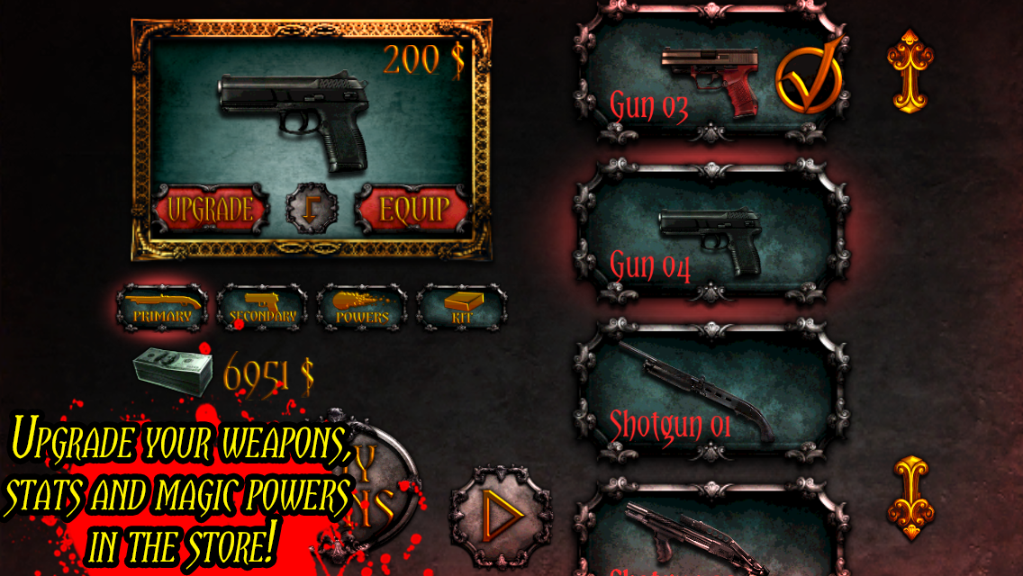 Devil Slayer Gunman - screenshot