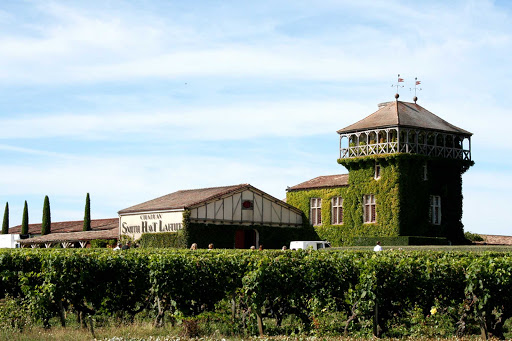 Chateau Smith Haut Lafitte, which makes well-regarded  Bordeaux reds, in Bordeaux, France.