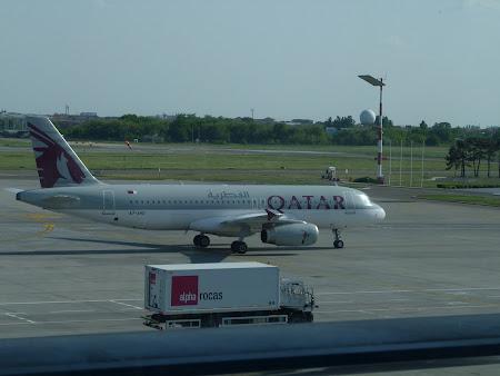 Aeroportul Otopeni Henri Coanda: Qatar Airways la Bucuresti