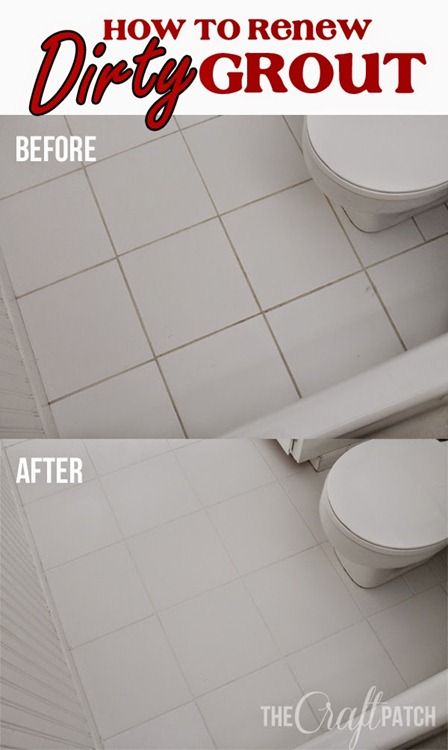 renew dirty grout