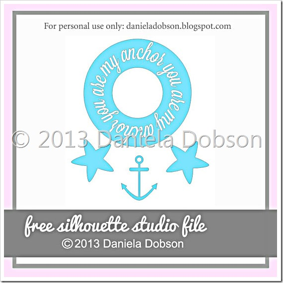 My anchor by Daniela Dobson