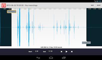 Screenshot of Ringtone Maker & Music Cutter