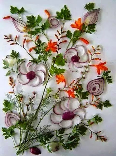 Onion Salad Design