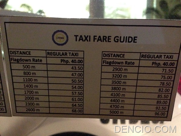 Philippine Taxi Fare Guide By Distance