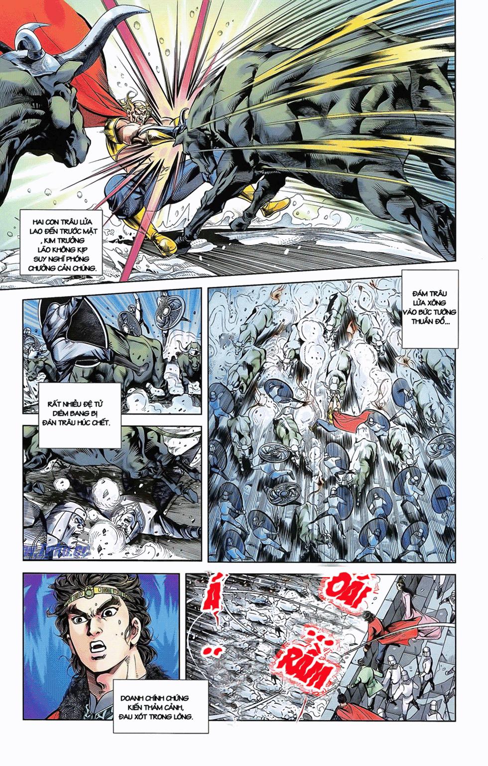 Tần Vương Doanh Chính chapter 9 trang 8