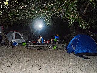 The Campsite at night @ Potipot Island_bueno