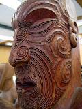 North Island - Rotorua - Maori carving