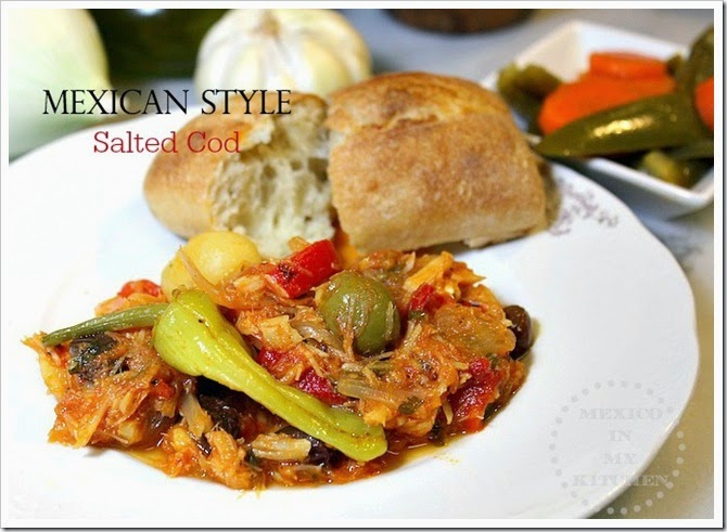 Mexican Style Salted Cod   Mexican Recipes