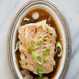 Pan Simmered Pacific Black Cod
