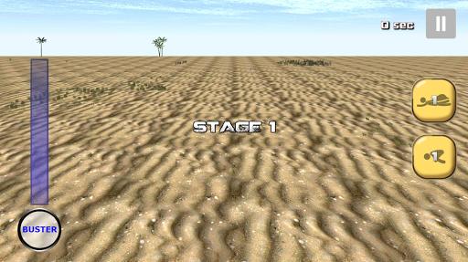 砂漠のランナー ランニングゲーム