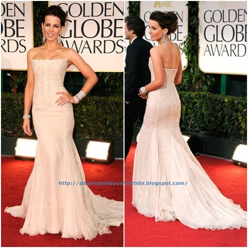 Kate Beckinsale arrives at the 69th Annual Golden Globe Awards-a
