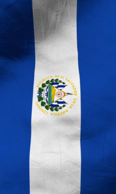 El salvador flag lwp Free- screenshot