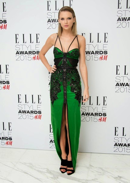 Taylor Swift attends the Elle Style Awards 2015
