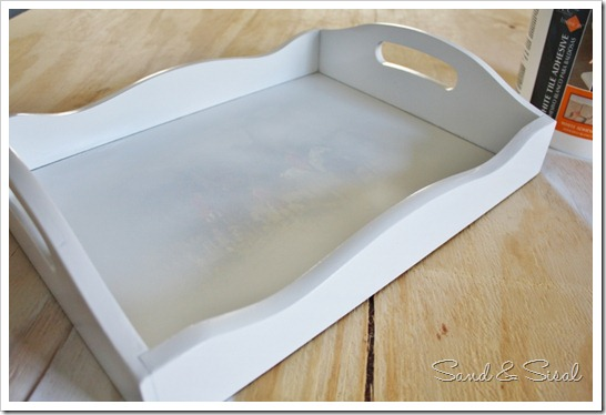 Make a Sea Glass Mosaic Serving Tray