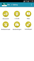 Screenshot of ICS App ABN AMRO Card-houders