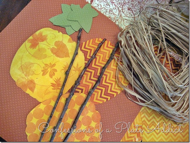 CONFESSIONS OF A PLATE ADDICT Pleated Paper Pumpkins supplies
