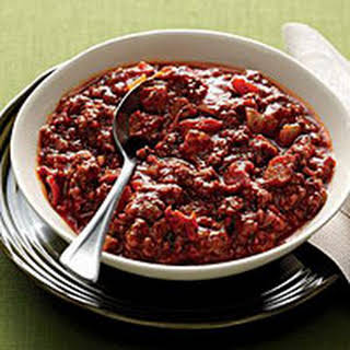 Smoky Beef Chili.
