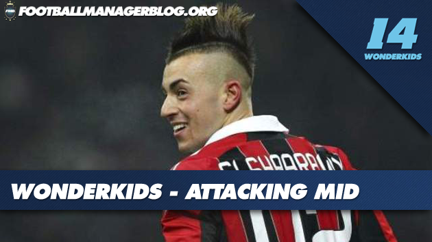 FM 2014 Wonderkids Attacking Midfielders