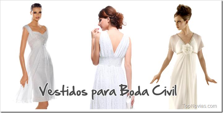 8ee34eaa7 Vestidos de Novia para Boda Civil: Tendencias 2019 - Manualidades ...