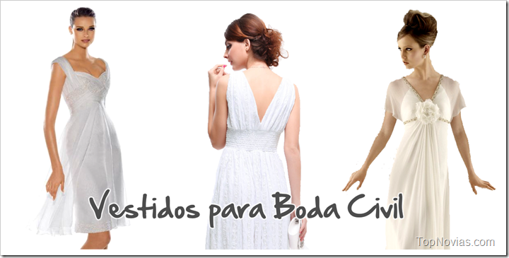 Vestido Boda Civil Matrimonio 2019