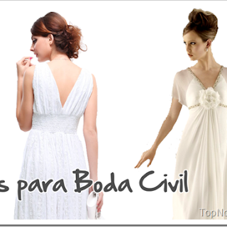 Vestidos de Novia para Boda Civil: Tendencias 2019
