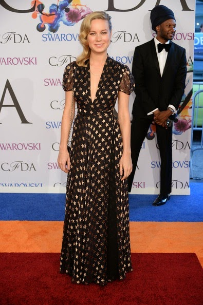 Brie Larson Arrivals CFDA Fashion Awards