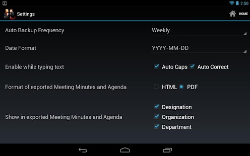 Meeting Minutes - screenshot thumbnail