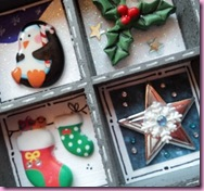 Mini Printeres Tray Christmas Decoration 6