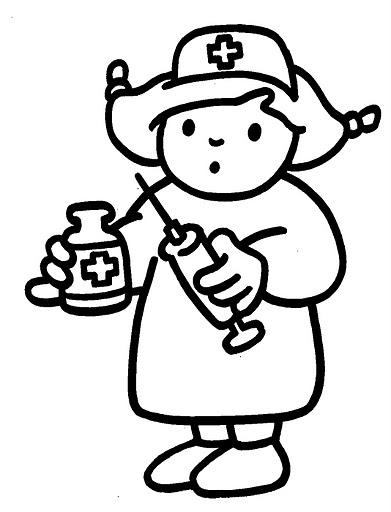 Dibujo De Enfermera Para Pintar Imagui | sokolvineyard.com