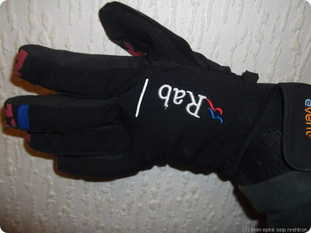right hand left glove