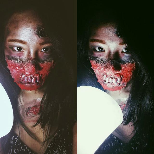 Halloween Special Fx Makeup: Halloween Zombie Makeup - CATHY HUANG