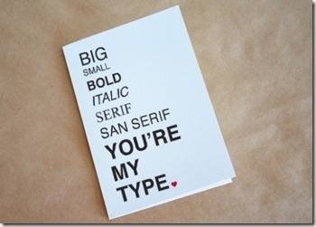 You're My Type - Valentines