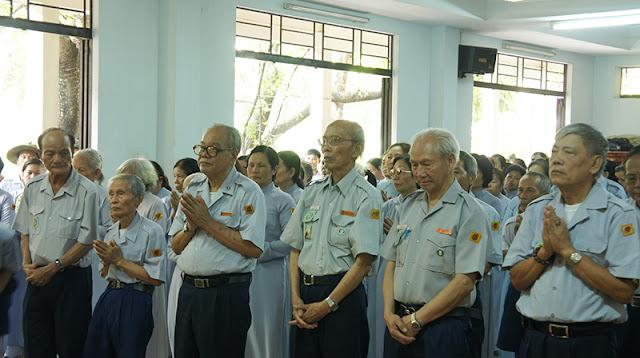 DSC06370 Lễ Hiệp kỵ   Lễ Huý Nhật Cư sĩ Sáng lập viên GĐPT Việt Nam   Tâm Minh Lê Đình Thám