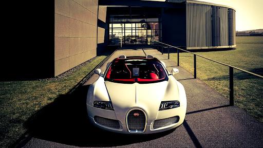 Bugatti Veyron Landscape Car