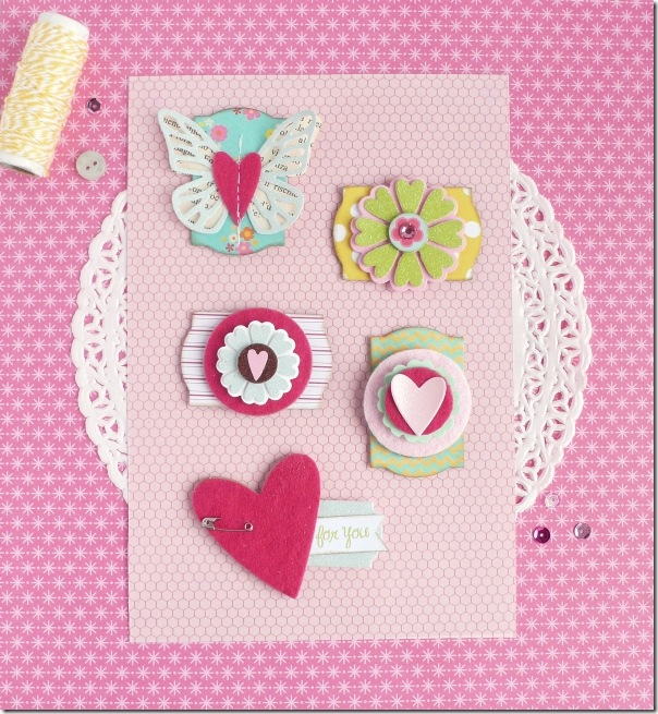 cafe creativo - Anna Drai - big shot sizzix - handmade embellishments (1)