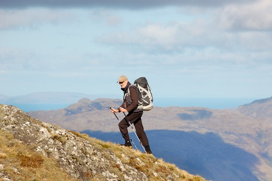 John Hesp's picture of me on SGURR BREAC