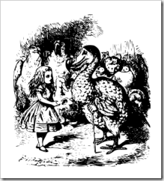 Alice meets the Dodo