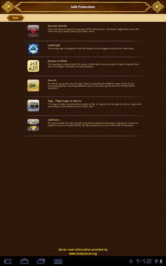 myQuran Lite- Understand Quran - screenshot