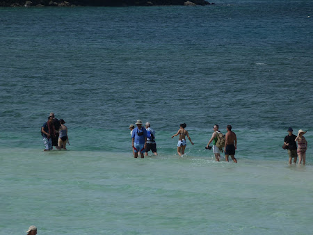 Plaje Thailanda: traversarea marii