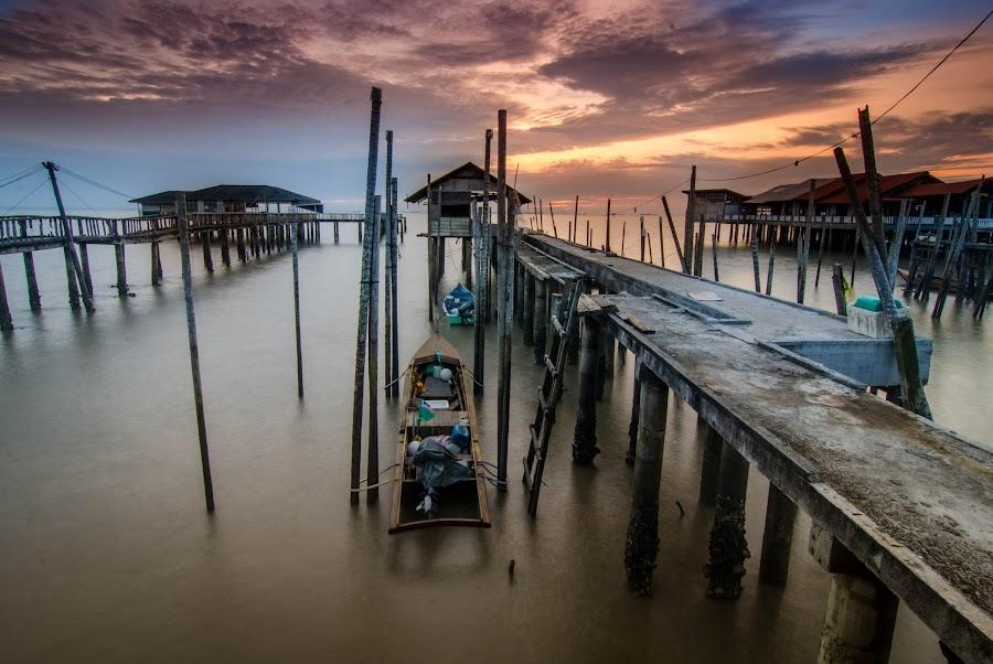 Tanjong Piai pier by Shaharudin Hanifah - Buildings & Architecture Bridges & Suspended Structures
