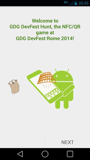 GDG DevFest Hunt 2014